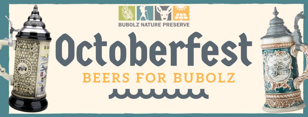 Octoberfest Beers for Bubolz @ Bubolz Nature Preserve